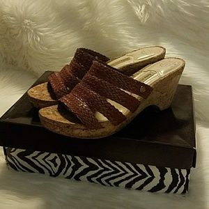 Dana Buchanan wedge sandals size 9M